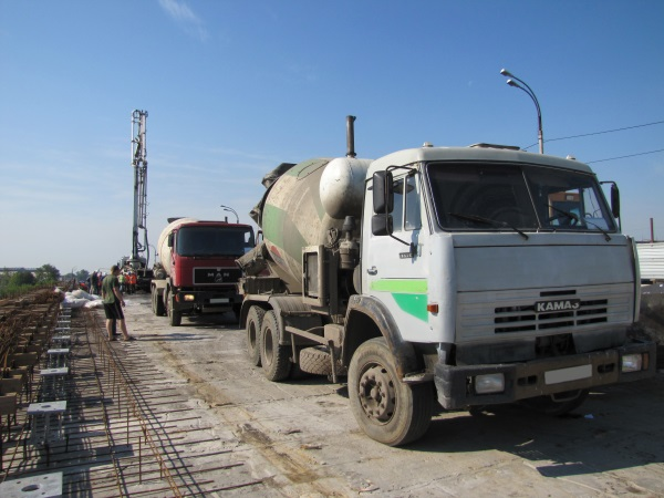 доставка бетона с завода